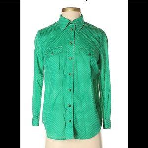 Maeve Long  Sleeve Button-Down Shirt